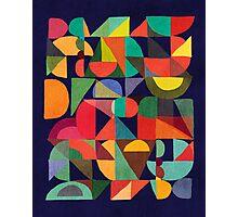 Color Blocks Photographic Print