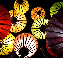 Oriental lanterns III by Paige