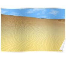 sand dune desert Poster