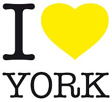 I ♥ YORK by eyesblau