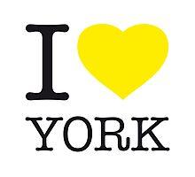 I ♥ YORK Photographic Print