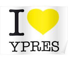 I ♥ YPRES Poster