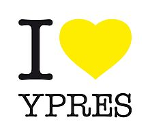 I ♥ YPRES Photographic Print