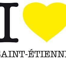 I ♥ ST. ETIENNE by eyesblau