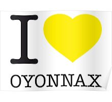 I ♥ OYONNAX Poster