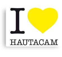 I ♥ HAUTACAM Canvas Print