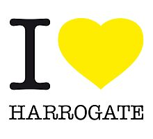 I ♥ HARROGATE Photographic Print