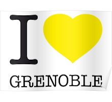 I ♥ GRENOBLE Poster