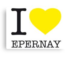 I ♥ EPERNAY Canvas Print