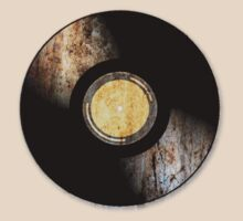 Vintage Vinyl Record Rust Texture - RETRO MUSIC DJ! by Denis Marsili