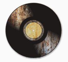 Vintage Vinyl Record Rust Texture - RETRO MUSIC DJ! Kids Clothes