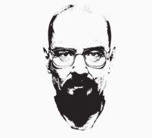 Walter White Minimalist T-shirt by retesan
