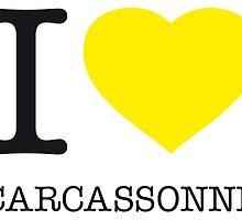 I ♥ CARCASSONNE by eyesblau