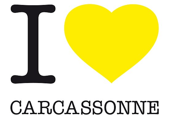 I ♥ CARCASSONNE by eyesblau