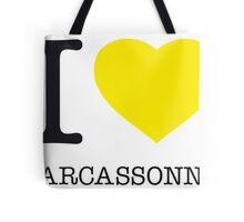 I ♥ CARCASSONNE Tote Bag