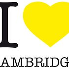I ♥ CAMBRIDGE by eyesblau