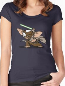 Master Mogwai Women's Fitted Scoop T-Shirt