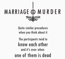 Marriage & Murder - black by PurpleSparklies
