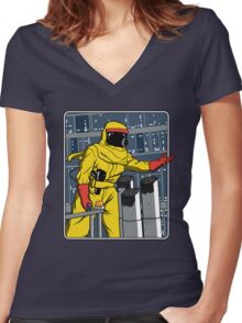 A Match Made In Space Women's Fitted V-Neck T-Shirt
