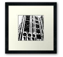Centre Pompidou Framed Print
