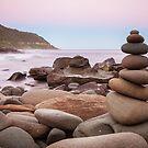 Zen Stones at Twilight by jamjarphotos