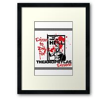 Thermophylae Pizzeria Framed Print