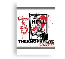 Thermophylae Pizzeria Canvas Print