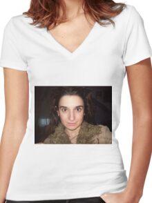 self portrait 2009 Women's Fitted V-Neck T-Shirt