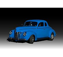 1940 Ford Deluxe Coupe Hot Rod Photographic Print