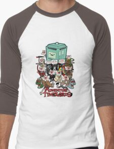 Adventure Time-Lords Men's Baseball ¾ T-Shirt