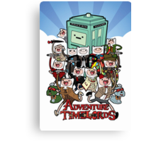 Adventure Time-Lords Canvas Print