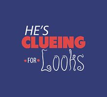 He's Clueing For Looks (V1) Unisex T-Shirt