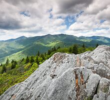 North Carolina Appalachian Mountain Landscape Scenic by MarkVanDyke