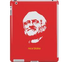 Jeremy Corbyn 'nice bloke' iPad Case/Skin