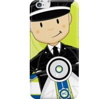P is for Policeman iPhone Case/Skin