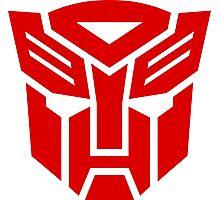 Transformers Autobot Logo Photographic Print