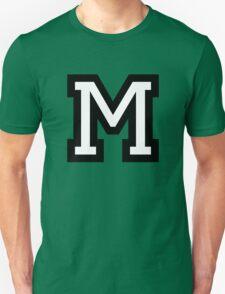 Letter M two-color T-Shirt