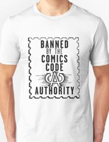 Banned by the CCA - Black Logo T-Shirt