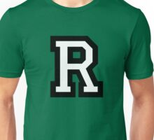 Letter R two-color Unisex T-Shirt