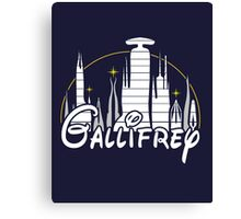 Gallifrey [Dr. Who] Canvas Print
