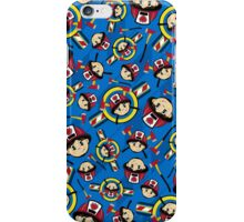 Cute Fireman Pattern iPhone Case/Skin