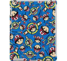 Cute Fireman Pattern iPad Case/Skin