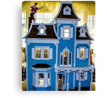 Victorian Dollhouse Canvas Print