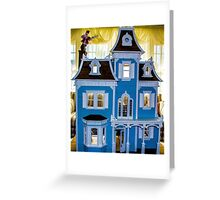 Victorian Dollhouse Greeting Card
