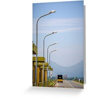 Road in Sri Lanka Greeting Card