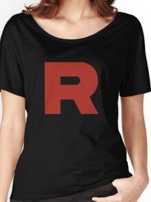 Team Rocket Shirt Women's Relaxed Fit T-Shirt