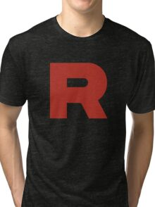 Team Rocket Shirt Tri-blend T-Shirt