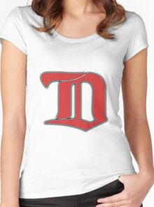 Detroit Redwings Winter Classic   Women's Fitted Scoop T-Shirt