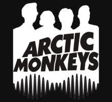 Arctic Monkeys White by PhilosophyArt