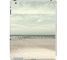 Old beach iPad Case/Skin